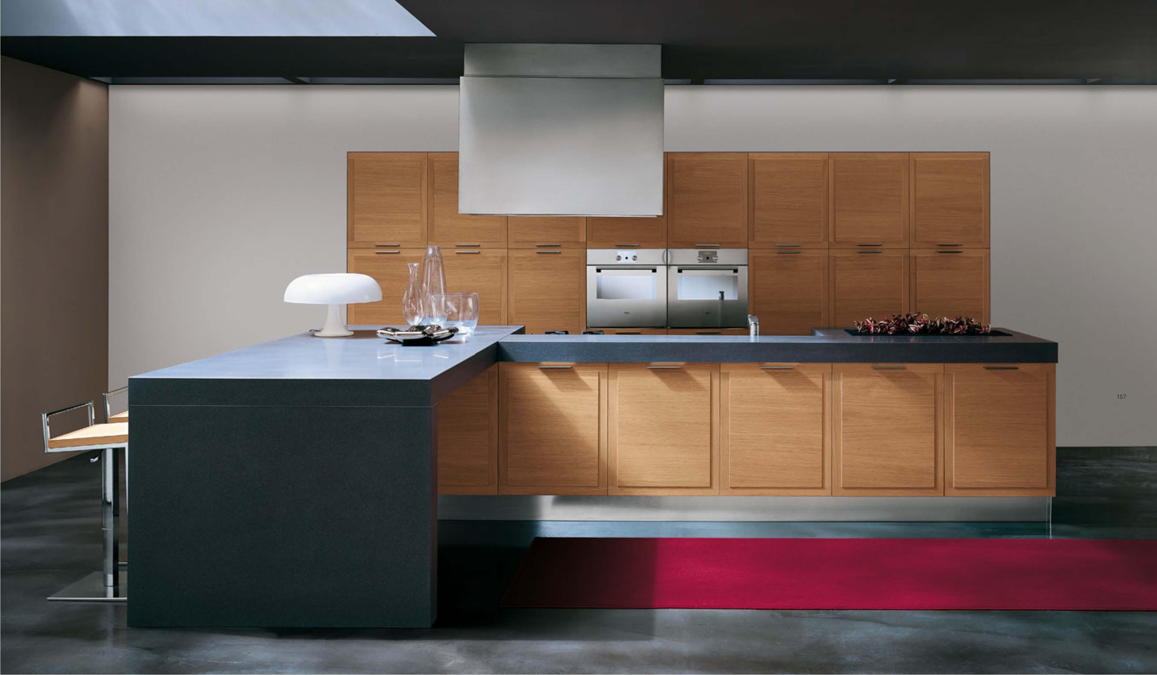 Cucina in rovere arredamento moderno - Arredamento moderno cucina ...