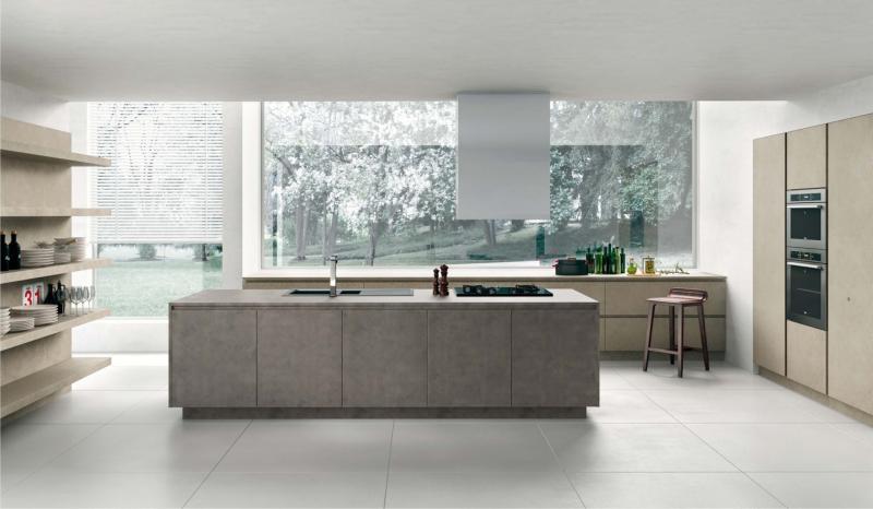 Le nostre cucine arredamento moderno - Top cucina in resina ...